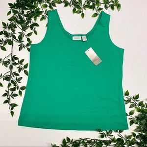 Chico's NWT Green Tank Top (1)